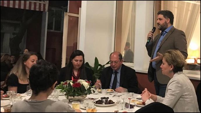Çin - Pekin Büyükelçimiz Önen iftar davetlerini sürdürüyor