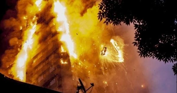 Çin'de gökdelende yangın: 10 ölü, 5 yaralı