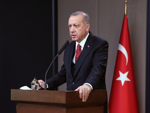 Cumhurbaşkanı Erdoğan'dan şehidin ailesine telgraf