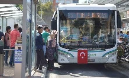 Cumhurbaşkanı Erdoğan'ın Mitingi İçin Ulaşım Ücretsiz Yapıldı