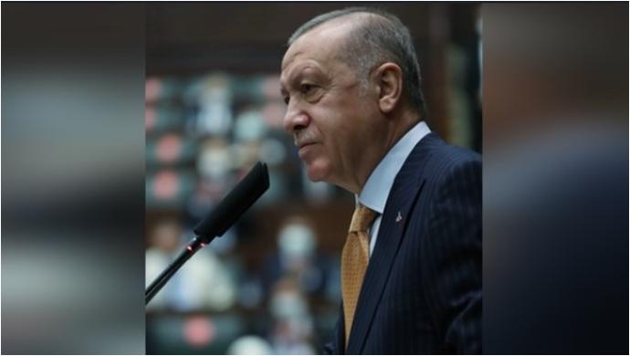 Cumhurbaşkanı Erdoğan, AK Parti TBMM Grup Toplantısı'nda konuştu
