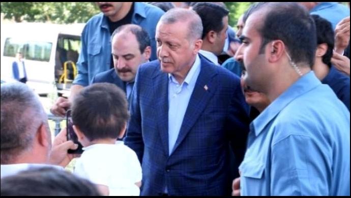 Cumhurbaşkanı Erdoğan'dan Yıldız'a taziye ziyareti