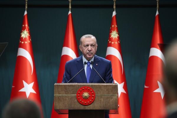 Cumhurbaşkanı Erdoğan, kabine toplantısı ardından açıklamalarda bulundu