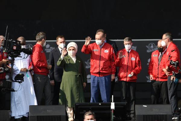 """Cumhurbaşkanı Erdoğan:""""TEKNOFEST sahip olduğumuz küresel potansiyelin ispatıdır"""""""