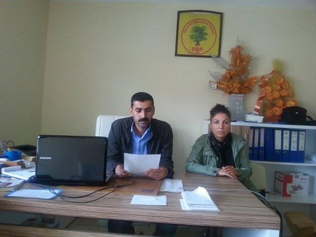 DBP Hilvan İlçe Teşkilatı Kobanililer İçin Seferber o Çağrısı