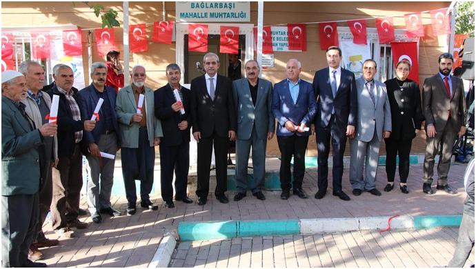 Demirkol, 91 Maliki Tapularına Kavuşturdu