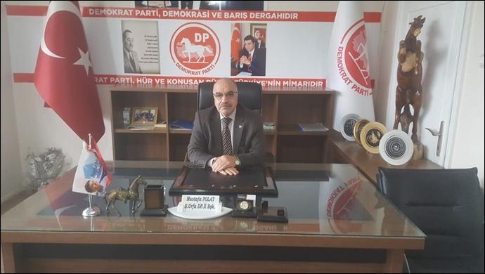 Demokrat Parti İl Başkanı Polat başhekim istifasının perde arkasını anlattı