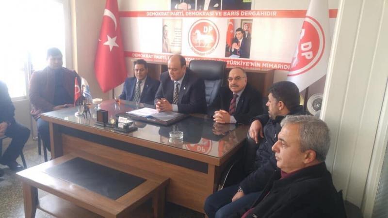 Demokrat Parti Teşkilat Başkan Yardımcısı Cömert Urfa'ya Geldi