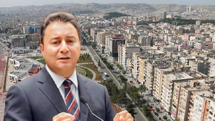 DEVA Partisi Genel Başkanı Ali Babacan Şanlıurfa'ya geliyor