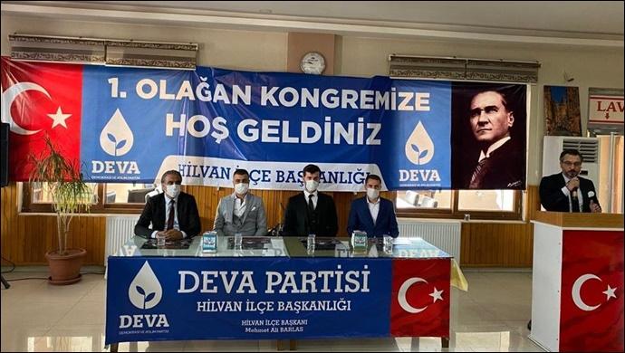 DEVA Partisi Hilvan'da kongresisini gerçekleştirdi