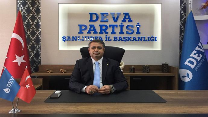 DEVA Partisi İl Başkanı Tüysüz: Halkımızın gerçekleri bilmeye hakkı var