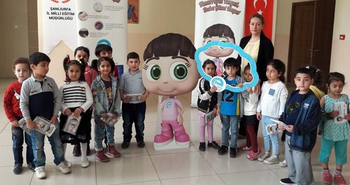 Dicle Elektrik, Enerji Çocuk Naz'ı Şanlıurfalı Çocuklarla Buluşturdu