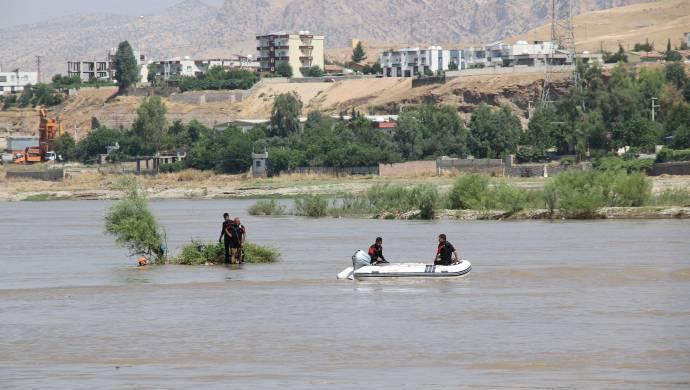 Dicle Nehri'nde kaybolan gence halen ulaşılamadı