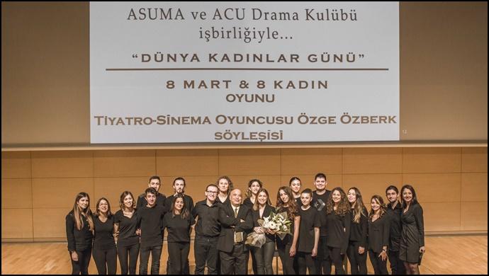 """Dünya kadınlar günü'ne özel tiyatro: """"8 mart 8 kadın"""""""