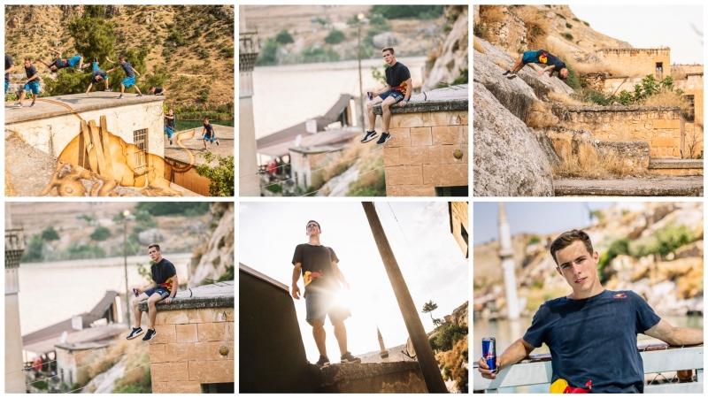 Dünyaca ünlü sporcudan Halfeti'de muhteşem şov