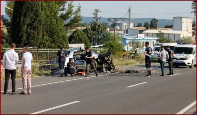 Edirne'de trafik kazası: 4 kişi yaşamını yitirdi