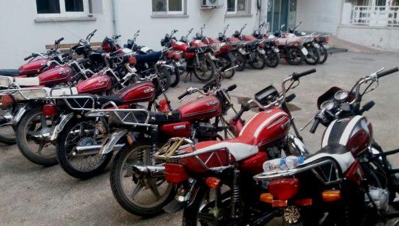 Emniyet, kaçak motosikletlere geçit vermiyor