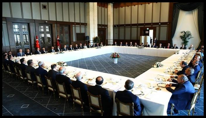 Erdoğan kanaat önderleri ve STK temsilcileri ile bir araya geldi
