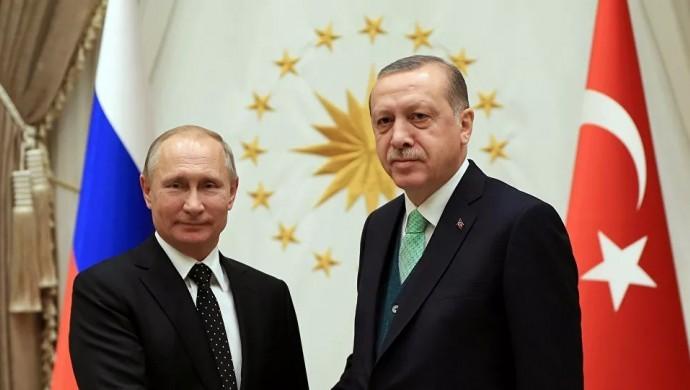 Erdoğan ve Putin telefonda İdlib'i görüştü