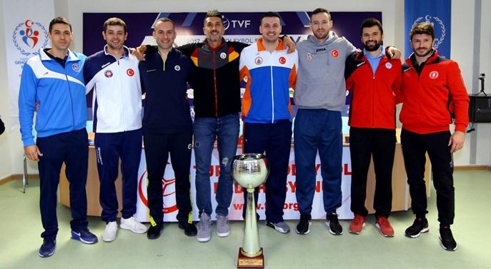 Erkekler Kupa Voley Final Etabı Basın Toplantısı Gerçekleşti