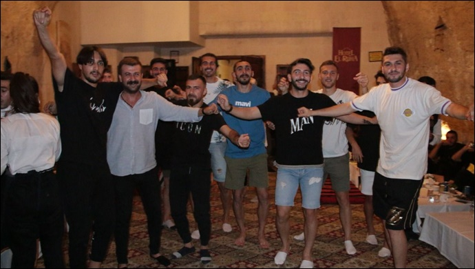 Eskişehirspor Maçı Öncesi Şanlıurfasporlu Futbolcular Moral Gecesinde