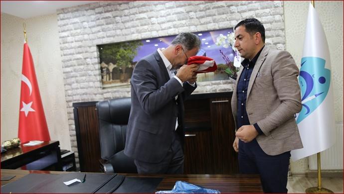 Eyyübiye Belediye Başkanı Mehmet Kuş'a Tebrik Ziyaretleri Devam Ediyor.