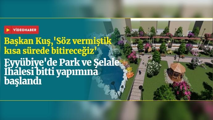 Eyyübiye Belediyesi 15 Temmuz'da Şelale Ve Park Yapımına  Başladı