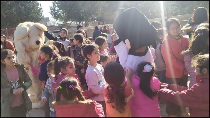Eyyübiye Belediyesi 'İyilik Merkezi' Çocukların Yüzünü Güldürmeye Devam Ediyor