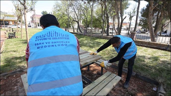 Eyyübiye Belediyesi Bir Açılışa Daha Hazırlanıyor-(VİDEO)