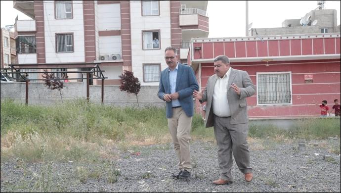 Eyyübiye Belediyesi, Direkli'ye Kapalı Semt Pazarı Yapıyor-(VİDEO)