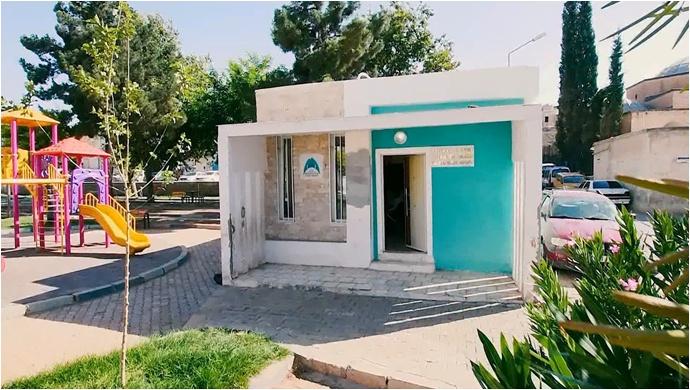 Eyyübiye belediyesi ilçeye 12 muhtar evi kazandırdı.