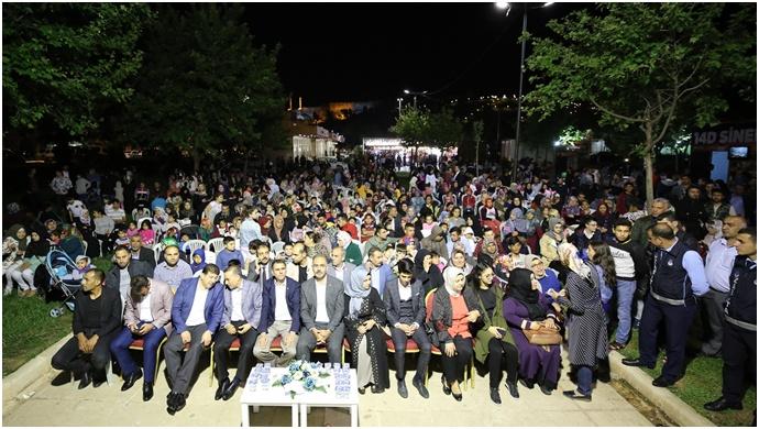 Eyyübiye belediyesi ramazan etkinliğine vatandaşlar  yoğun ilgi gösterdi.