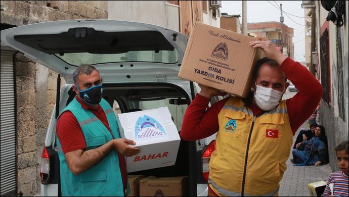 Eyyübiye Belediyesi, Yardıma Muhtaç Vatandaşların Yanında Olmaya Devam Ediyor-(VİDEO)