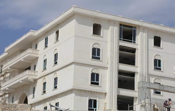 Eyyübiye belediyesi hizmet binası açılışa hazır.