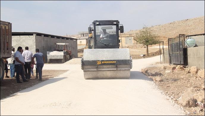 Eyyübiye Belediyesi Yol Yapımına Ara Vermeden Devam Ediyor-(VİDEO)