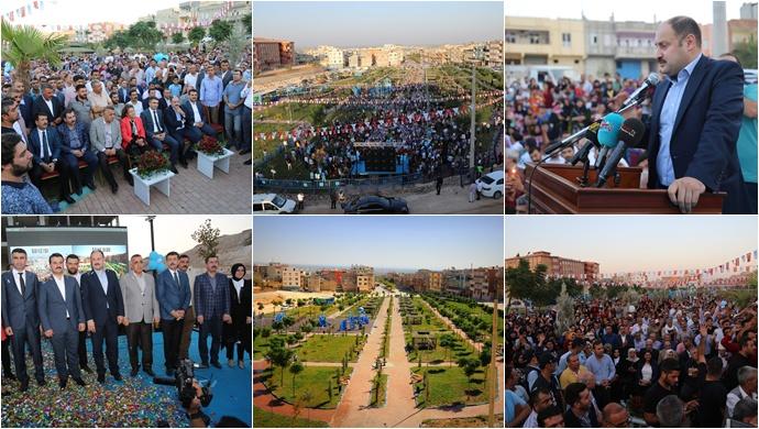 Eyyübiye Belediyesi Eyüp Cenap Gülpınar Parkı Açıldı