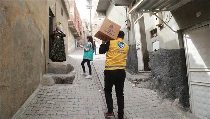 Eyyübiye Belediyesi Yardım Faaliyetlerini Aralıksız Sürdürüyor-(VİDEO)