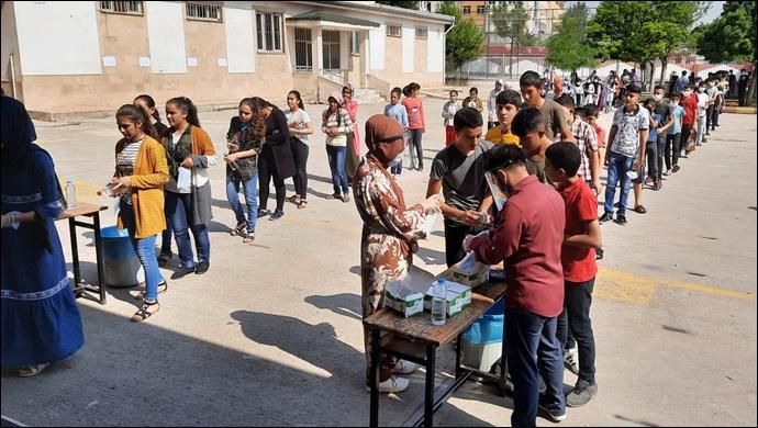 Eyyübiye Belediyesi, Sınava Giren Öğrencileri Yanlız Bırakmadı