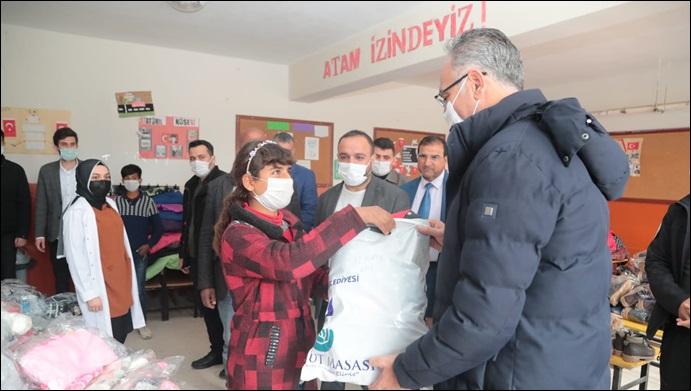 Eyyübiye Belediyesi, Dezavantajlı Öğrencileri Unutmadı-(VİDEO)