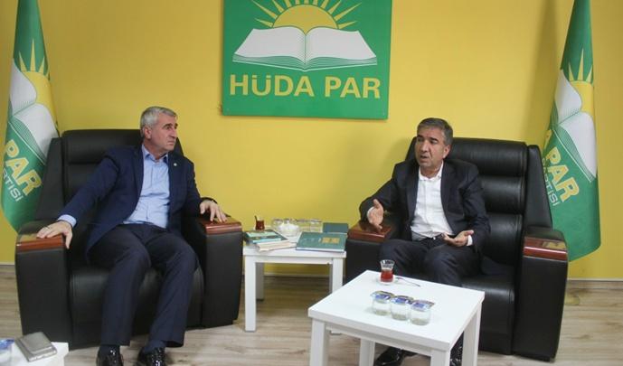 Eyyübiye Belediyesinden HÜDA PAR'a ziyaret