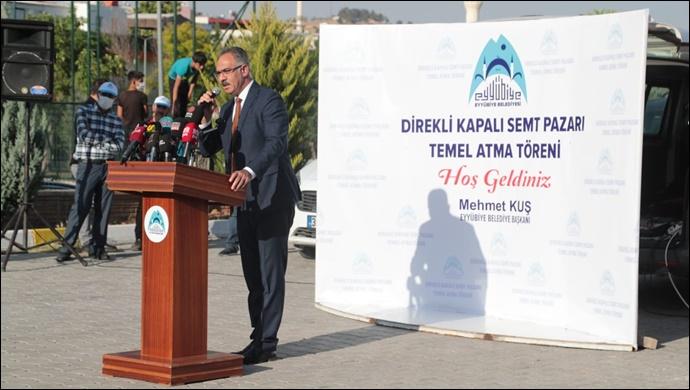 Eyyübiye Belediyesinden bir temel atma daha-(VİDEO)