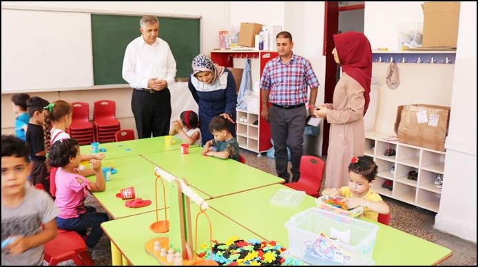 Eyyübiye Hem'de Suriyeli çocuklar için anasınıfı açıldı