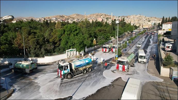 Eyyübiye'de Cadde Ve Sokaklar Pırıl Pırıl-(VİDEO)