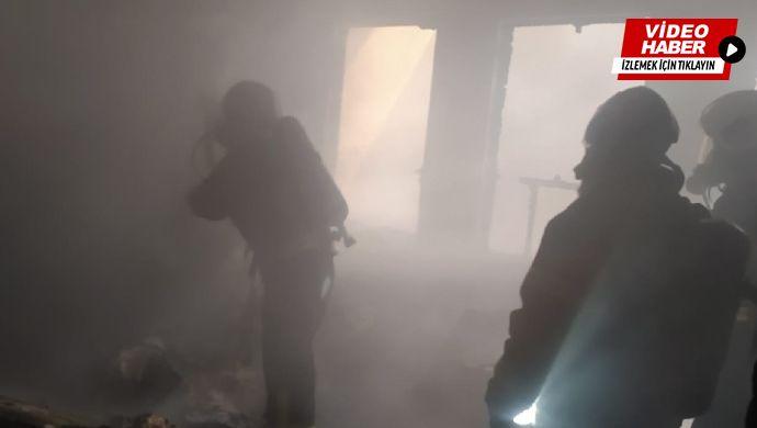 Eyyübiye'de ev yangını! İtfaiye müdahale etti