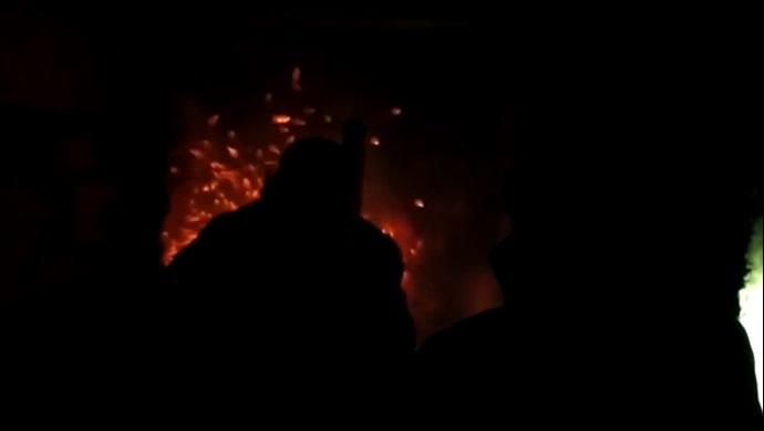 Eyyübiye'de evde yangın çıktı! İtfaiye müdahale etti-(VİDEO)