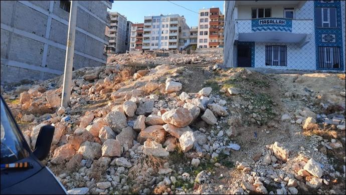 Eyyübiye'de hafriyat tehlike saçıyor! Vatandaşlar tepkili