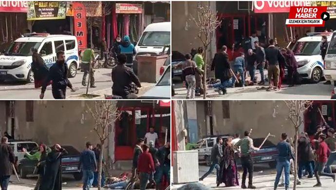 Meydan savaşı gibi kız alıp verme kavgası! 7 kişi yaralandı