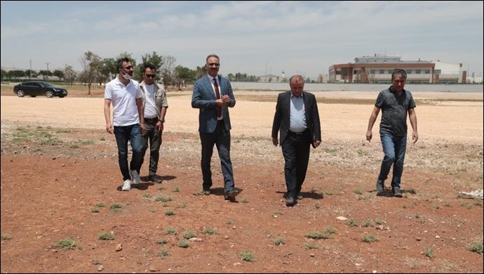 Eyyübiye'de istihdam seferberliği. İmzalar atıldı, sera projesi hayata geçiyor-(VİDEO)