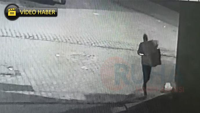Eyyübiye'de okullardaki hırsızlık vakaları kameralara yansıdı!