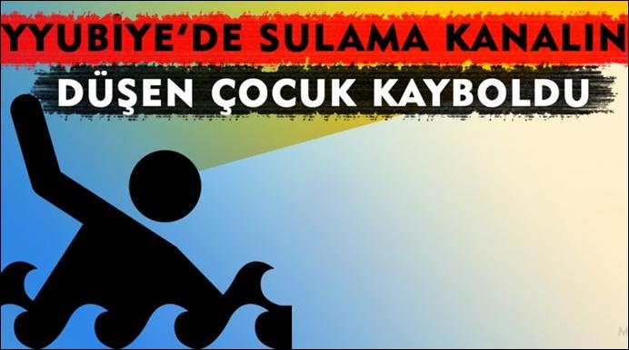 Eyyubiye'de Sulama Kanalına Düşen Çocuk Kayboldu